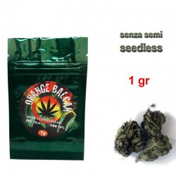 WEED LIGHT ORANGE BALCAN 1 GRAMMO